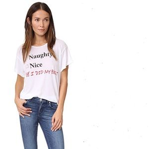 Wildfox Naughty or Nice Shirt size Small